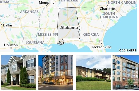 List of Apartments in Alabama