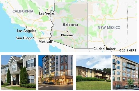 List of Apartments in Arizona