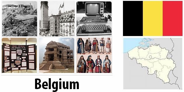 Old History of Belgium