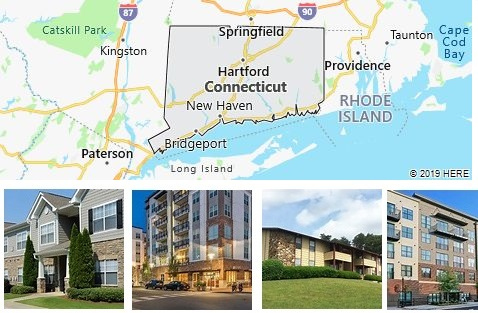 List of Apartments in Connecticut