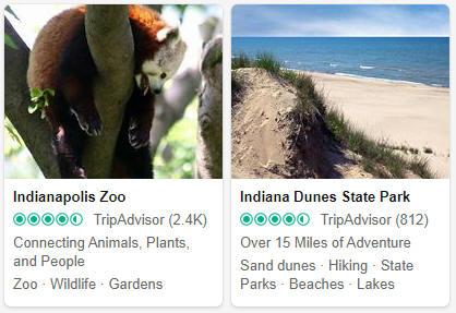 Indiana Tourist Attractions
