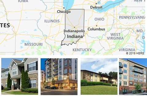 List of Apartments in Indiana