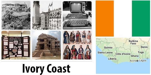 Old History of Ivory Coast