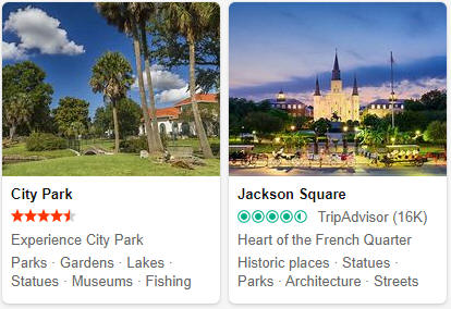 Louisiana Tourist Attractions