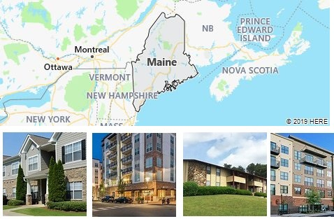 List of Apartments in Maine