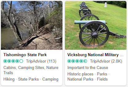 Mississippi Tourist Attractions