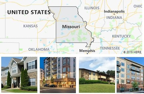 List of Apartments in Missouri