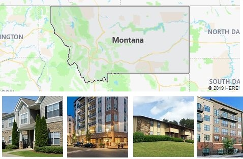 List of Apartments in Montana