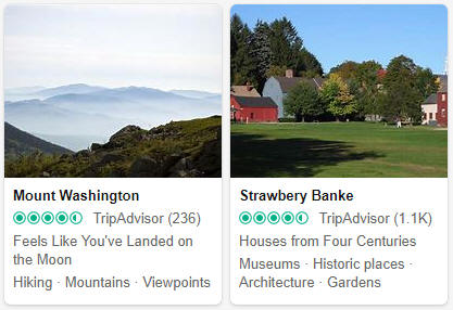 New Hampshire Tourist Attractions