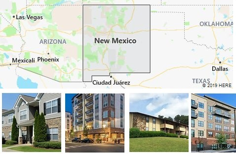List of Apartments in New Mexico