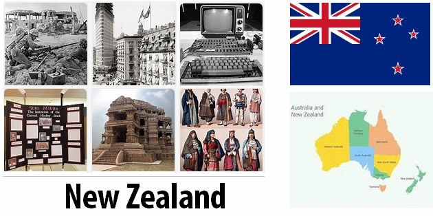 Old History of New Zealand
