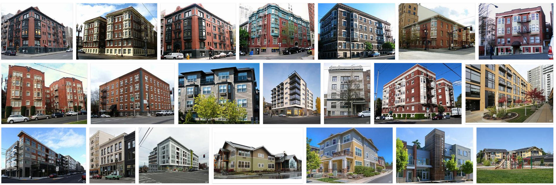 Directory of Apartments and Real Estate Service in Oregon
