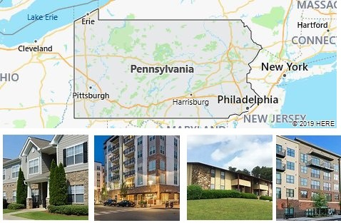 List of Apartments in Pennsylvania