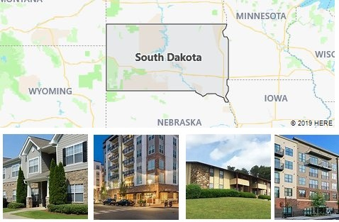 List of Apartments in South Dakota
