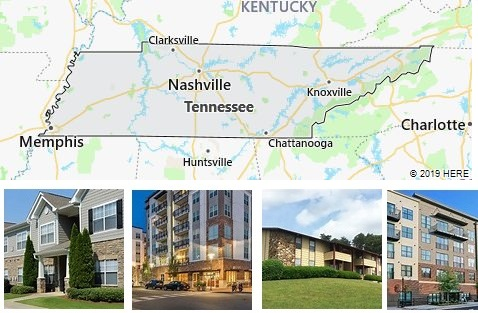 List of Apartments in Tennessee