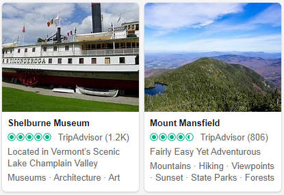 Vermont Tourist Attractions