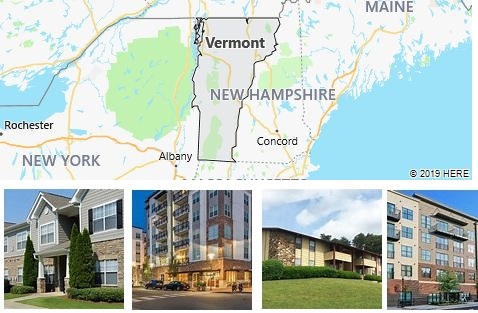 List of Apartments in Vermont