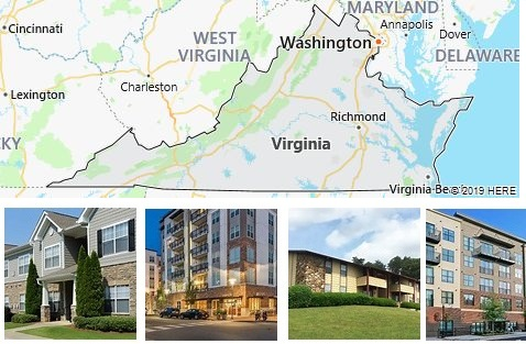 List of Apartments in Virginia