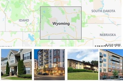 List of Apartments in Wyoming