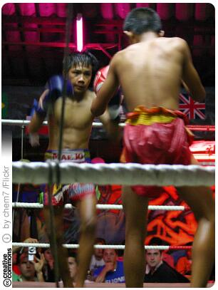 Muay Thay is also a popular sport among tourists