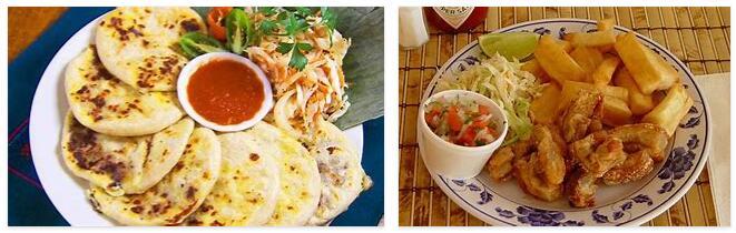 El Salvador Food