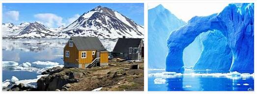 Attractions in Greenland